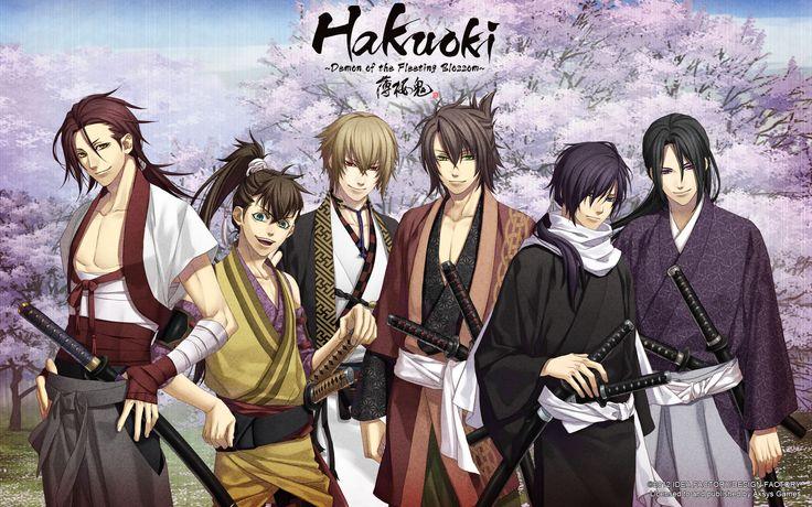 >Hakuouki บุปผาซามูไร ผ่าตำนานนักรบชินเซ็น ภาค1-3+OVA พากย์ไทย