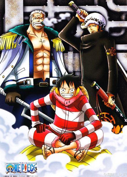 >วันพีช One Piece ภาค 16 พังค์ ฮาซาร์ด ตอนที่ 579-628 พากย์ไทย