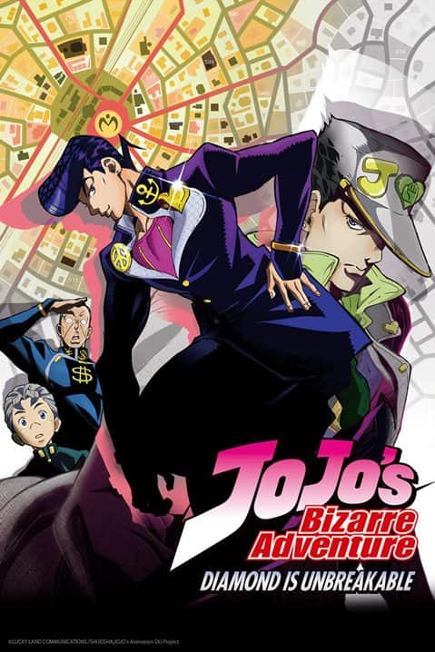 >JoJo's Bizarre Adventure โจโจ้ ล่าข้ามศตวรรษ ภาค4 ตอนที่ 1-39 ซับไทย