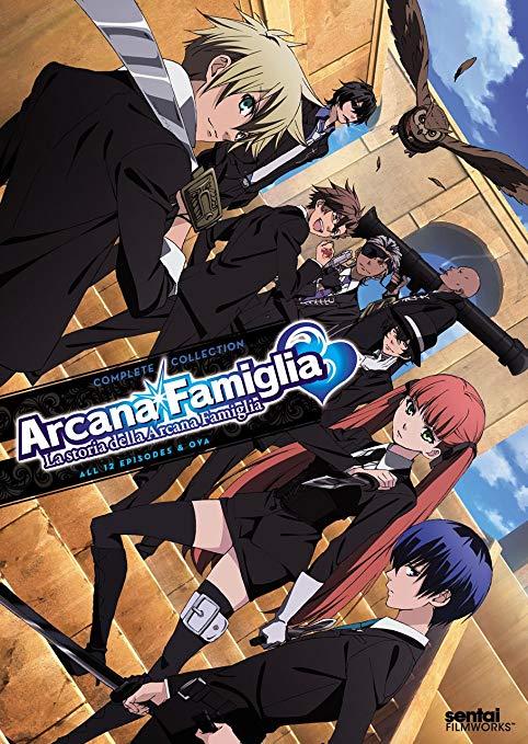 >Arcana Famiglia มาเฟียมนตรา มือปราบกำราบหัวใจ ตอนที่ 1-13 พากย์ไทย