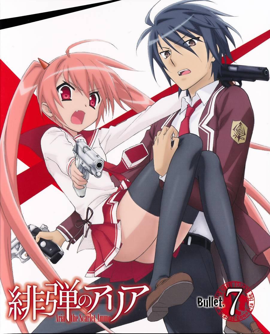 >Hidan no Aria อาเรีย กระสุนแดงเดือด ตอนที่ 1-12 OVA ซับไทย