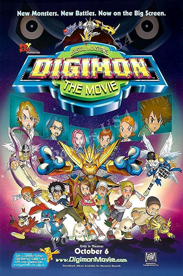 >Digimon Adventure The Movie ดิจิมอนแอดเวนเจอร์ เดอะมูฟวี่ 1-7 พากย์ไทย