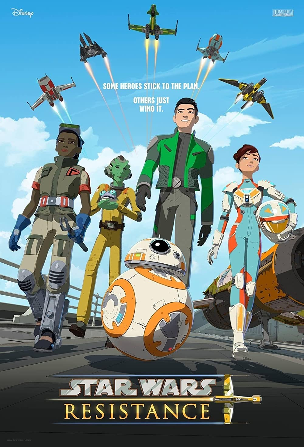>Star Wars Resistance สตาร์วอร์ เรสซิเดนซ์ Season1-2 ตอนที่ 1-40 พากย์ไทย