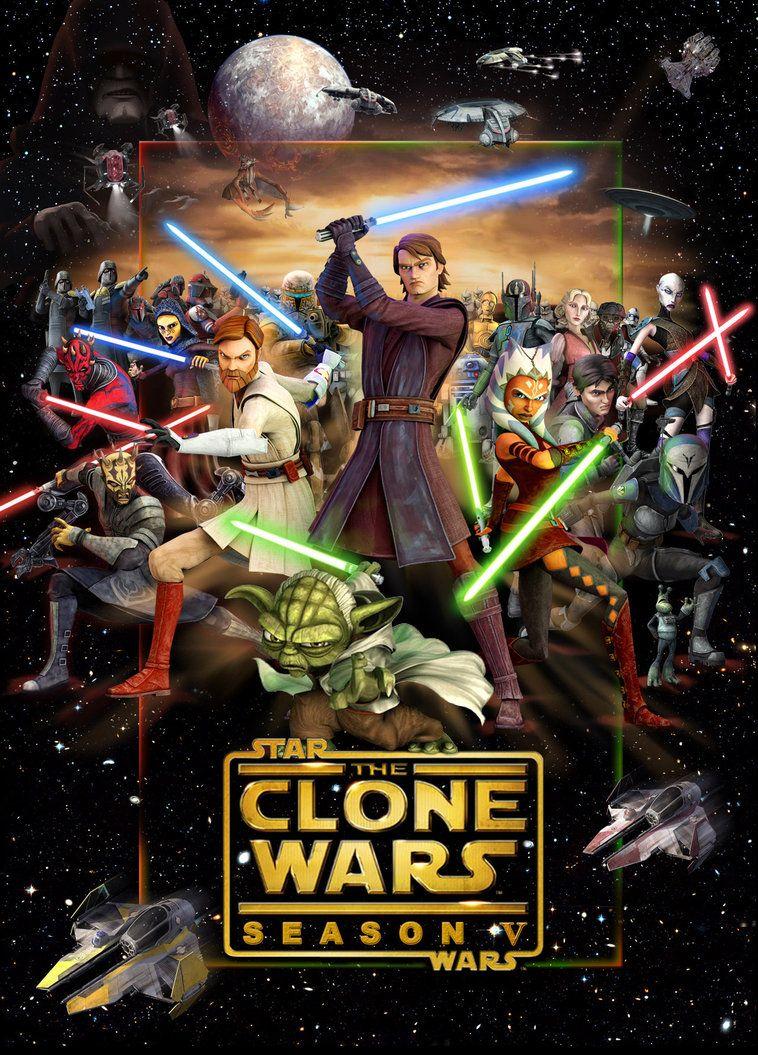 >Star Wars The Clones Wars 5 สตาร์ วอร์ส เดอะ โคลน วอร์ส ภาค5 ตอนที่ 1-20 พากย์ไทย