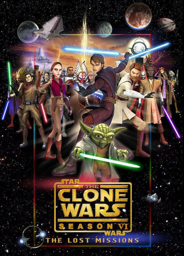 >Star Wars The Clones Wars 6 สตาร์ วอร์ส เดอะ โคลน วอร์ส ภาค6 ตอนที่ 1-13 พากย์ไทย